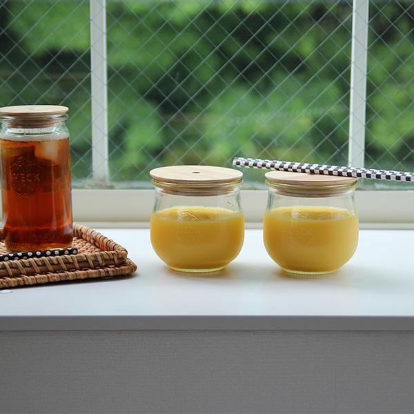 WECK (ウェック) WECK GIFT BOX DRINK BOTTLE SET(ドリンクボトルセット)/TULIP 370ml×2 グラス/キャニスター/キッチン