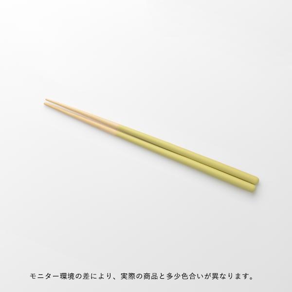 STIIK KIDS (スティック キッズ) 箸/はし(1膳入り) ユズ(イエロー) カトラリーのような箸/一年箸/竹製/お弁当用/子ども用 【メール便】