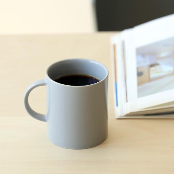 【50%OFF】kura common (クラ コモン) Ena (エナ) マグカップ クールグレー/マット 和洋食器/食器