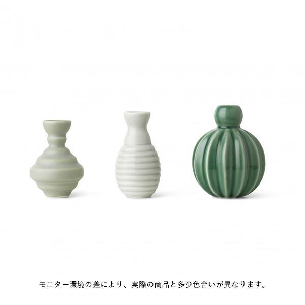 dottir (ドティエ) Samsurium (サムスリアム) ミニベルフラワーベース/3個セット ミニ グリーン 北欧/インテリア/花瓶/日本正規代理店品
