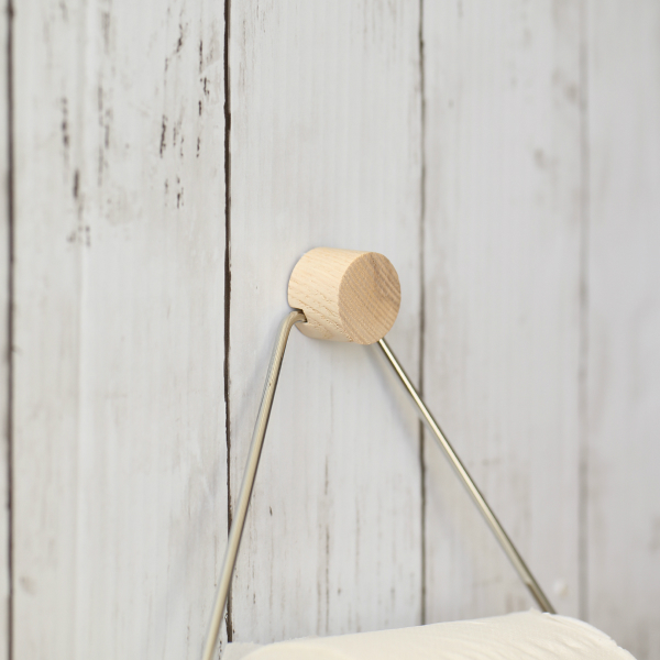 ferm LIVING (ファームリビング) Toilet Paper Holder (トイレットペーパーホルダー) クローム 北欧/インテリア/日本正規代理店品
