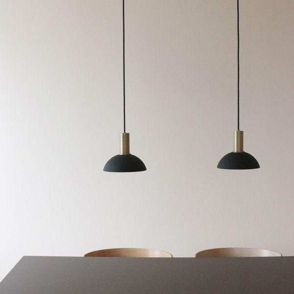 【受注発注】 ferm LIVING (ファームリビング) Collect フープシェード ブラック/ライトグレー 北欧/インテリア/照明/日本正規代理店品