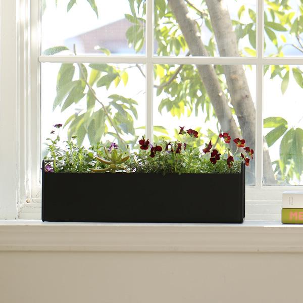 ferm LIVING (ファームリビング) Plant Box (プラントボックス) S ブラック 北欧/インテリア/日本正規代理店品【送料無料】