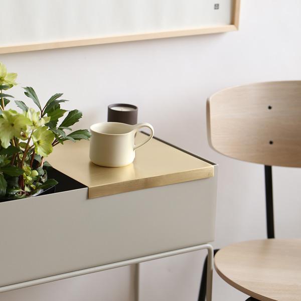 ferm LIVING (ファームリビング) Tray for Plant Box (プラントボックス L / Two Tier専用トレイ) ブラス 北欧/インテリア/日本正規代理店品【送料無料】