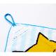 ノラネコぐんだん ループ付きタオル (ノラネコバナナ/マーミーちゃんいちご)