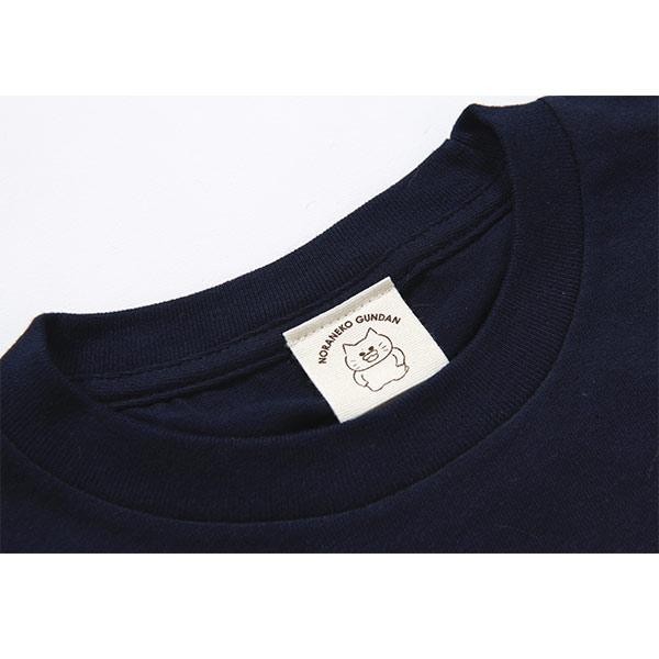 ノラネコぐんだん 長袖Tシャツ マーミーちゃん ネイビー キッズ(110cm,130cm,150cm)、ユニセックス(S、M、L、LL)