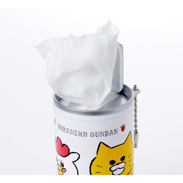 ノラネコぐんだん ウェットティッシュ缶 (ノラネコいっぱい/ノラネコとマーミーちゃん)
