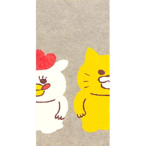 ノラネコぐんだん 金封【長ポチ袋】(3枚入) ノラネコとマーミーちゃん