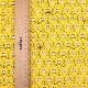 ノラネコぐんだん ファブリック 1mカットクロス ノラネコいっぱい ノラきいろ