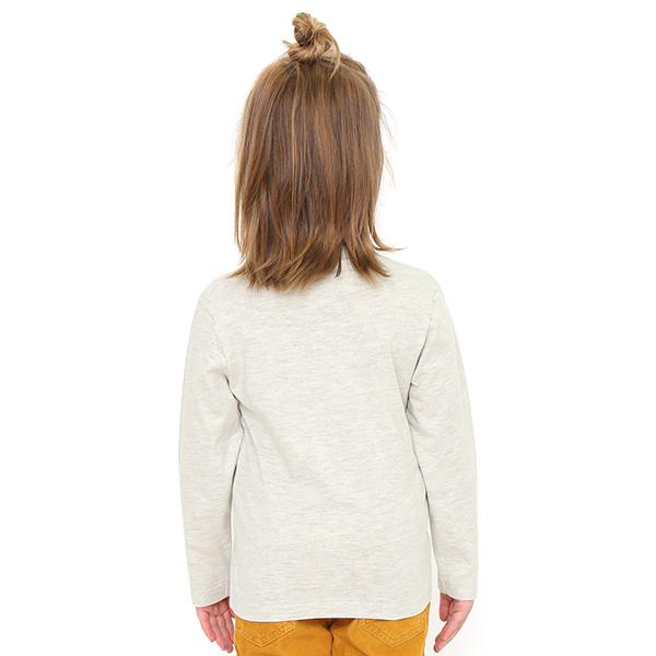 でんしゃのずかん キッズ長袖Tシャツ ドクターイエロー柄 (90cm、100cm、110cm、120cm、130cm、140cm)
