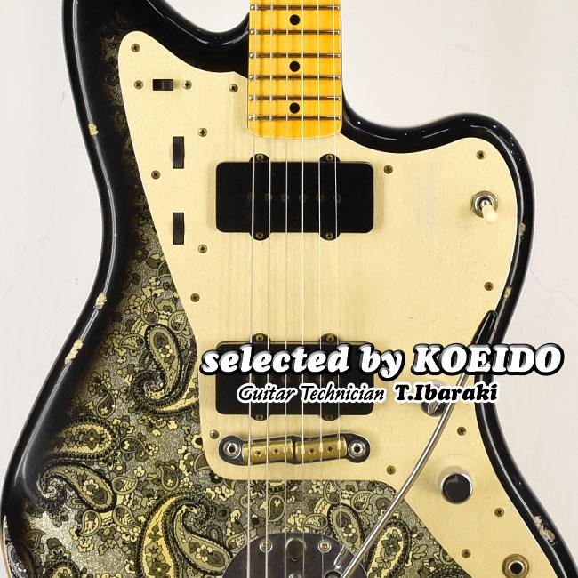 【New】Fender Custom Shop LTD Custom Jazzmaster Relic Black Paisley(selected by KOEIDO)店長厳選、レアな命を持つ別格のジャズマス!フェンダー 光栄堂