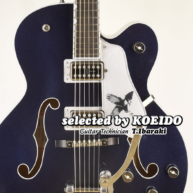 【New】Gretsch G6136T-RR Rich Robinson Signature Magpie with Bigsby(selected by KOEIDO) フェンダー選抜グレッチ第一弾!