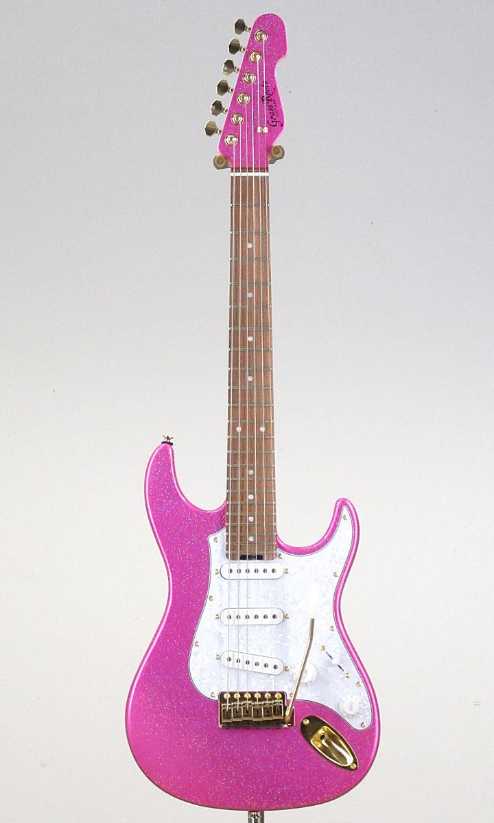 ★大村孝佳氏プロデュースのミニギター! GrassRoots G-SN-62TO Twinkle Pink[Produced by Takayoshi Ohmura] 【スペア弦、レビュー特典付き!】【送料無料】