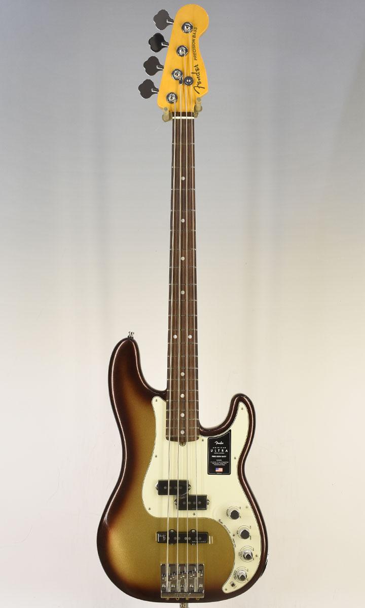 【New】Fender American Ultra Precision Bass RW Mocha Burst (selected by KOEIDO) 店長厳選、群を抜くウルトラプレべ!フェンダー 光栄堂