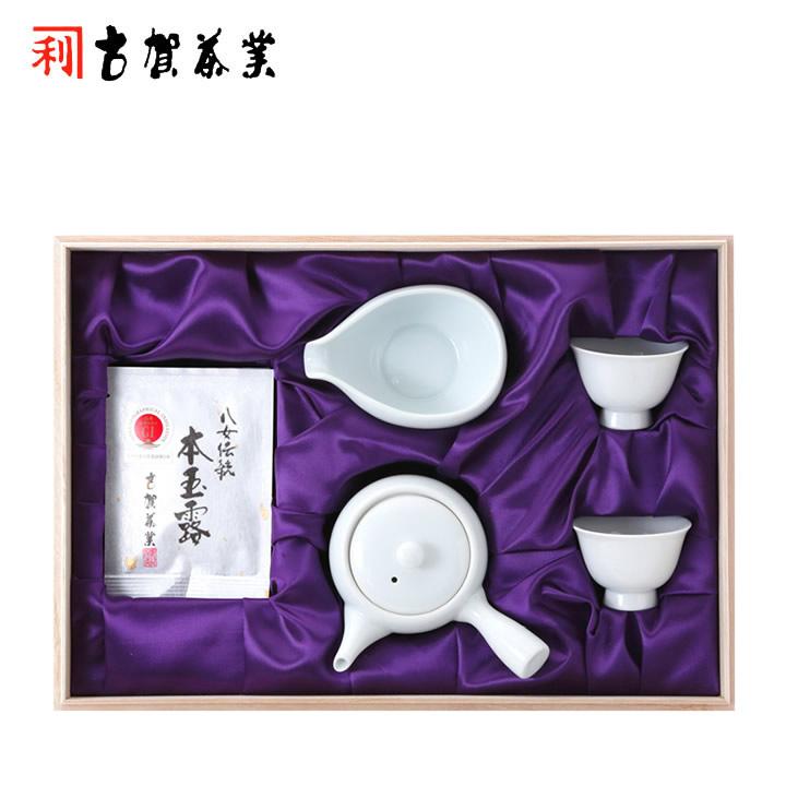 【八女伝統本玉露】玉露 5g×5袋 茶器セット