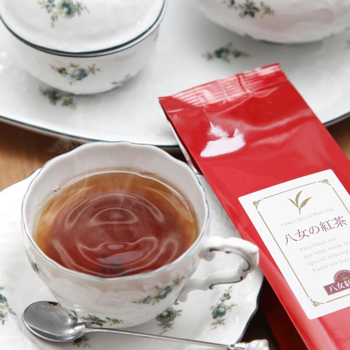 八女の紅茶 −ストレート−