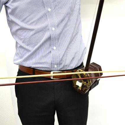 二胡立奏用ホルダー