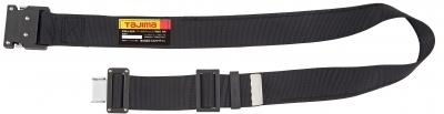 タジマ BWBCL145-BK 鍛造アルミワンタッチブラックバックルカーブ 安全帯胴ベルト 黒色 Lサイズ Tajima