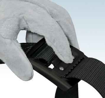 タジマ BABL145-BK アルミワンフィンガーブラックバックル 安全帯胴ベルト 黒色 Lサイズ Tajima