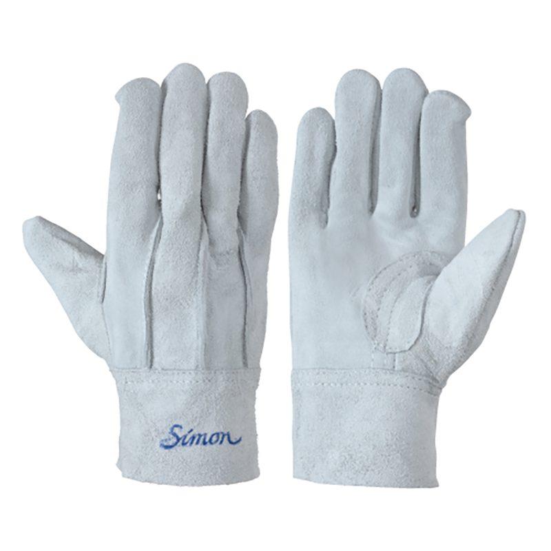 シモン 107AP 銀当 皮手袋 10双組