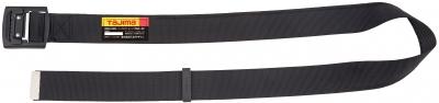 タジマ BABCL145-BK アルミワンフィンガーブラックバックルカーブ 安全帯胴ベルト 黒色 Lサイズ Tajima