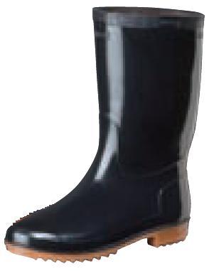 弘進 スーパーゾナ耐油長靴 黒 防滑ソール仕様 ※メーカー在庫確認商品