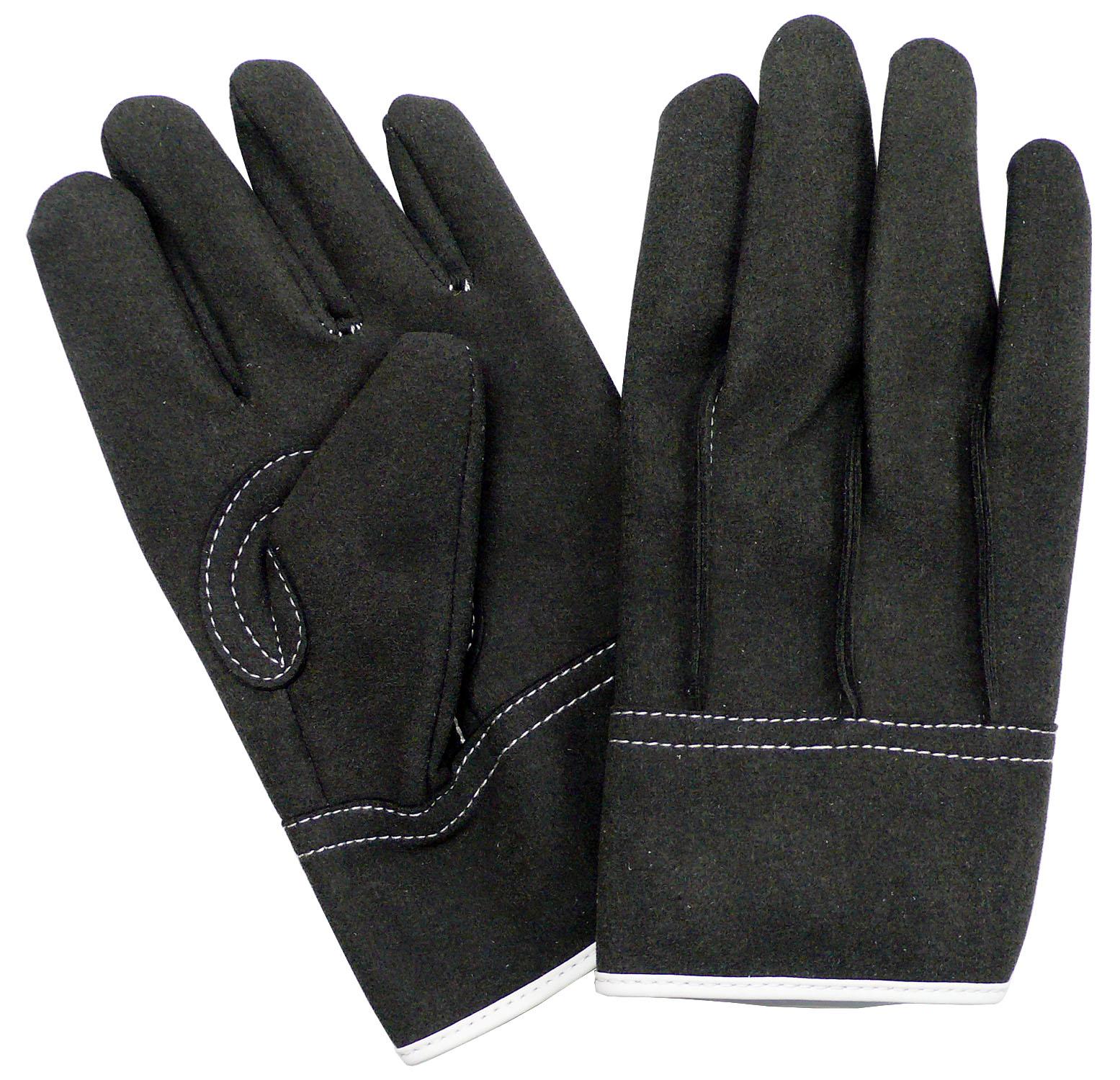HAMAGLO H901 人工皮革背縫い 人工皮革手袋 10双組 のばのば