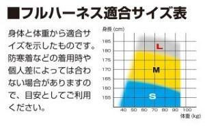 タジマ AZSM-BK ハーネスZS 黒 M Mサイズ