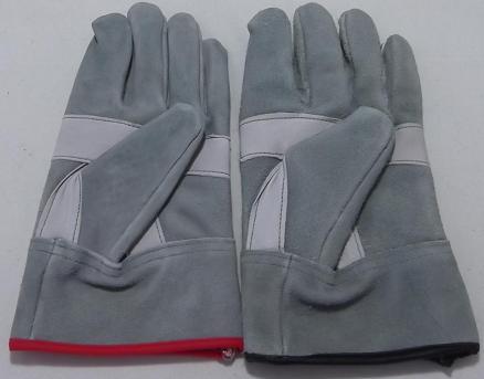 のばのば N411 油 皮手袋 白当付 10双組
