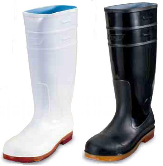 日進ゴム 4500Z ハイパーVソール 先芯入り衛生長靴 食品工場用安全長靴 ※メーカー在庫確認商品