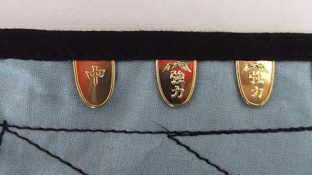 富士ゴーリキ印 藍染脚絆 御誂脚絆 8枚こはぜ 富士強力