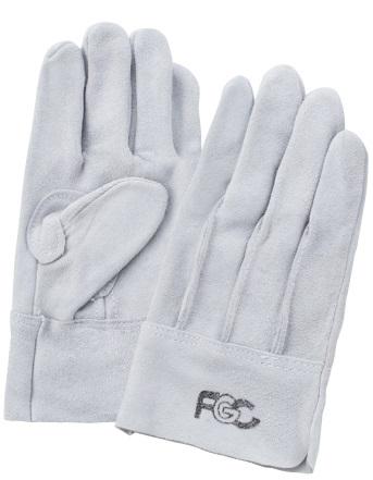 富士グローブ No.60FGC 床皮背縫 皮手袋 10双組 FGC ※メーカー在庫確認商品