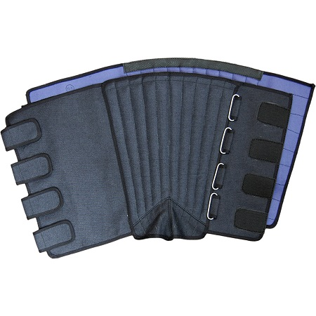 荘快堂 K-60 安全長脚半マジックタイプ 切創防止金属板入 黒 ※メーカー在庫確認商品