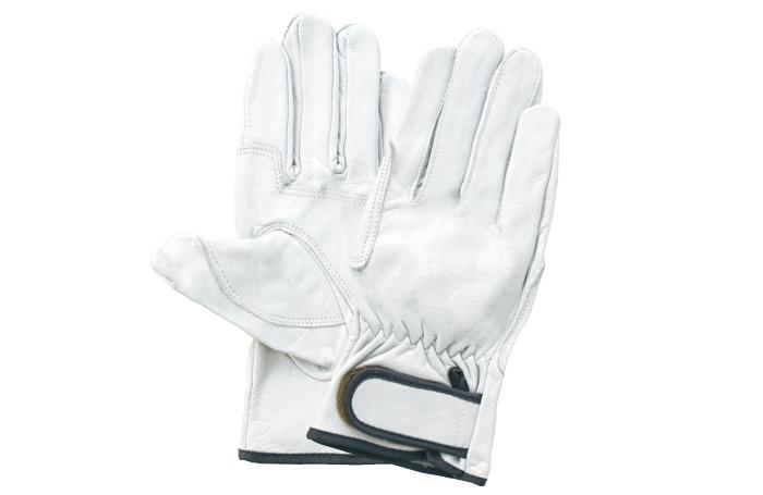 富士グローブ 牛表皮レインジャー型アテ付 皮手袋 高品質国産皮革 10双組 ※メーカー在庫確認商品