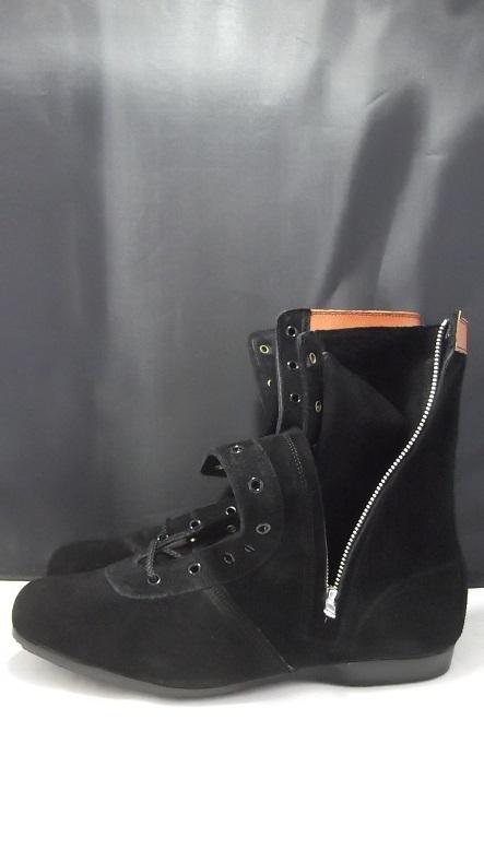 青木産業 L53H1 安全靴 チャック付オールハトメ長編安全靴 ateneo ※メーカー在庫確認商品