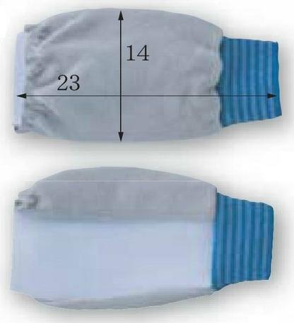 富士グローブ LS-103 アームカバー 皮製 10組 ※メーカー在庫確認商品