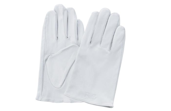 富士グローブ F-801 牛皮クレスト 皮手袋 10双組 ※メーカー在庫確認商品