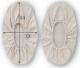 富士グローブ CAN-410 帆布靴カバー 10組 綿100%布製靴カバー ※メーカー在庫確認商品