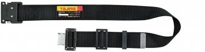タジマ BWBS110-BK 鍛造アルミワンタッチブラックバックル 安全帯胴ベルト 黒色 Sサイズ Tajima