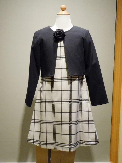 ドレス 1109-1  120cm アンサンブル