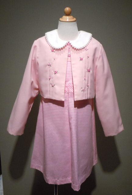ドレス 1115-1  120cm アンサンブル