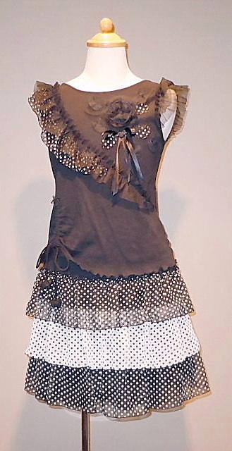 ドレス 1039-1 150cm (ツーピース)