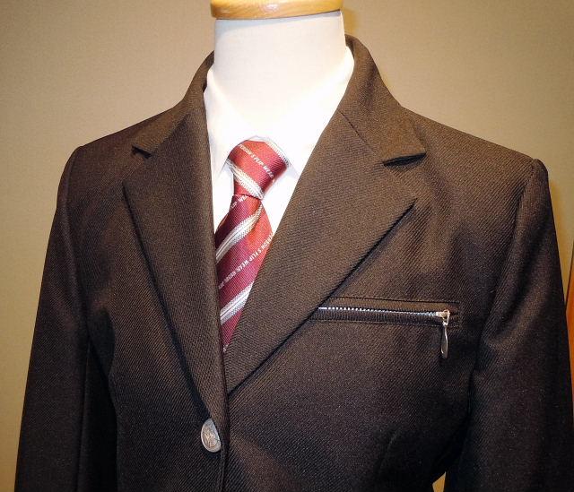ドレス 1105-1 150cm ジャケット、パンツ、シャツ、ネクタイの4点セット