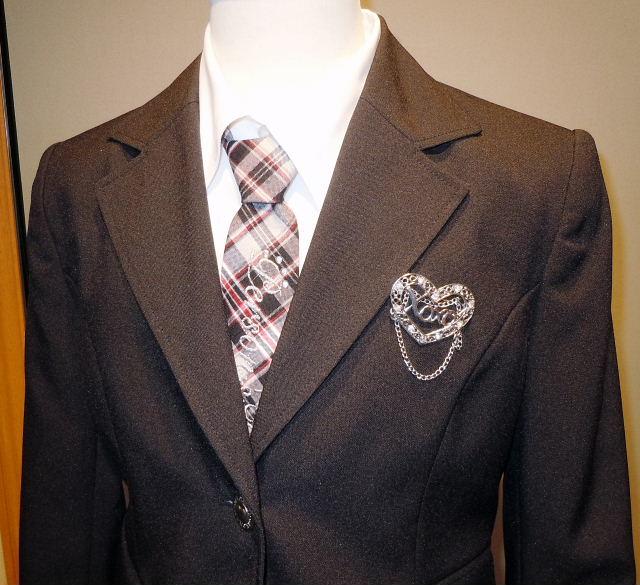 ドレス 1106-1 150cm ジャケット、スカート、シャツ、ネクタイの4点セット