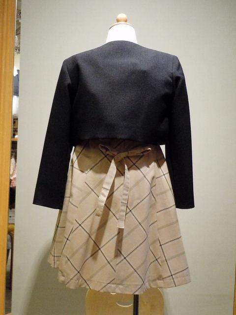ドレス 1108-1  120cm アンサンブル