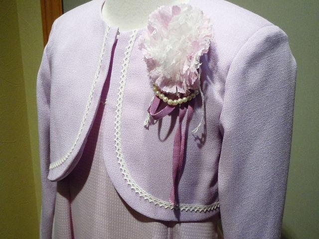 ドレス 1112-1  120cm アンサンブル