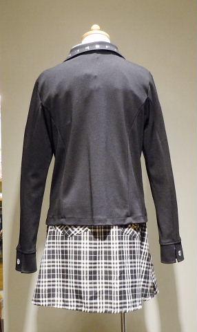 ドレス 1088-1 160cm ジャケット、スカート、シャツ、ネクタイの4点セット