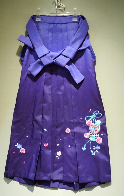和装ジュニアハカマセット(角帯と袴) H-305 H-308 140cm150cm160cm