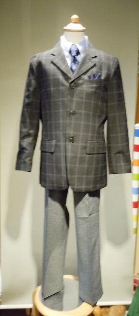 ブレザースーツ 140cm150cm160�(シャツネクタイは除く)A-205+A-268