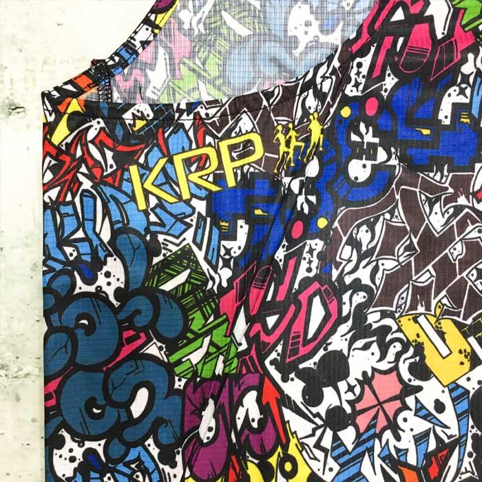 KRP CRAZY RUNWORD SINGLET (eyeron マルチカラー)(krptank90)